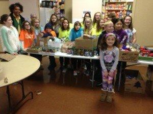 Cheryl Thomas and Green School Strive Club